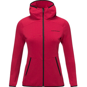 Peak Performance Helo Mid Hood Jacket Women True Pink